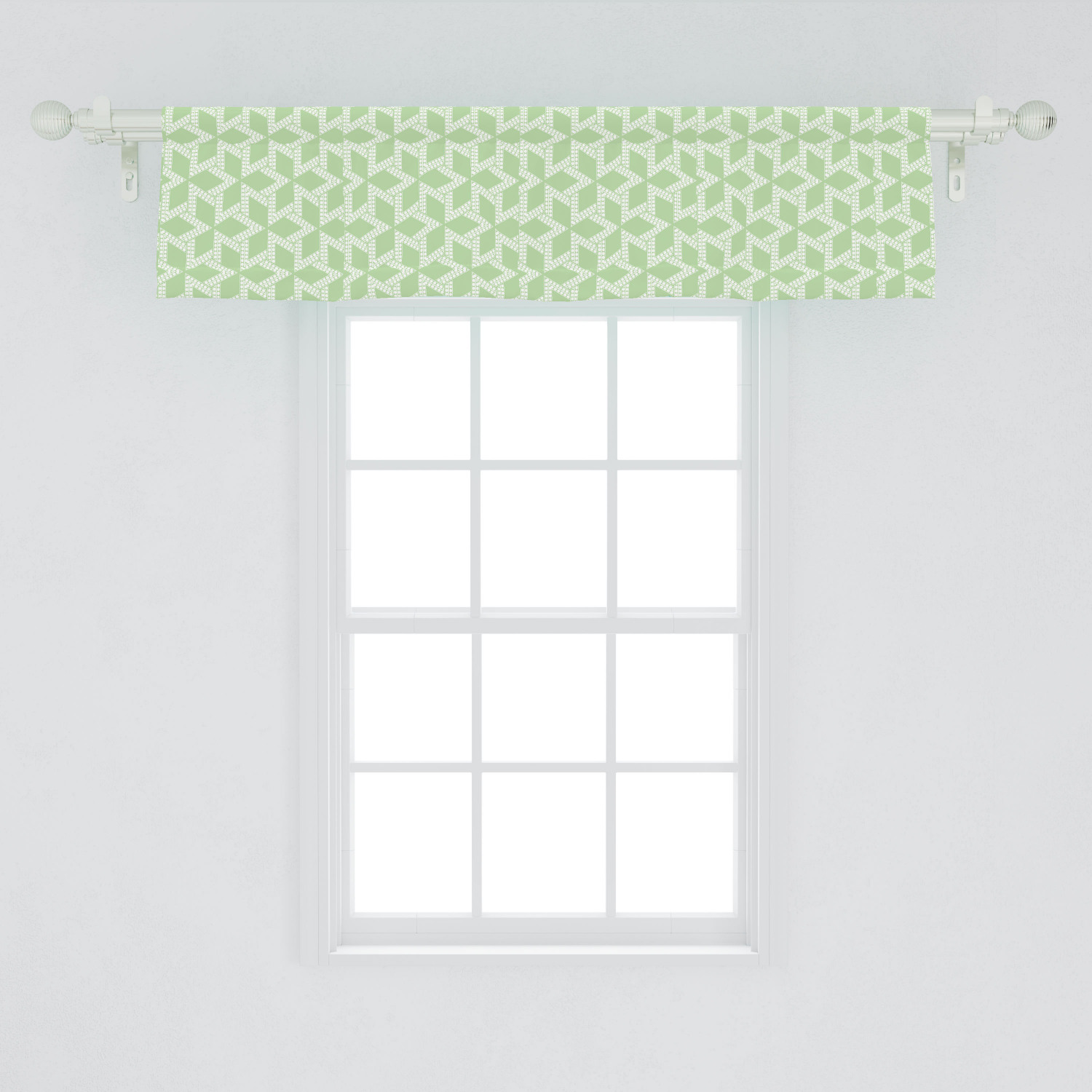 Picture of: Abstract Window Valance Ethnic Moroccan Mosaic Style Stars With Contemporary Inner Dots Design Curtain Valance For Kitchen Bedroom Decor With Rod Pocket By Ambesonne Walmart Com Walmart Com