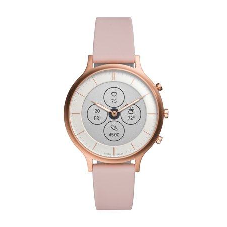 Fossil Hybrid Smartwatch HR - Charter Blush Silicone
