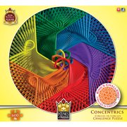 Concentrics Hangers 600 Piece Puzzle,  Photography by King of Puzzles