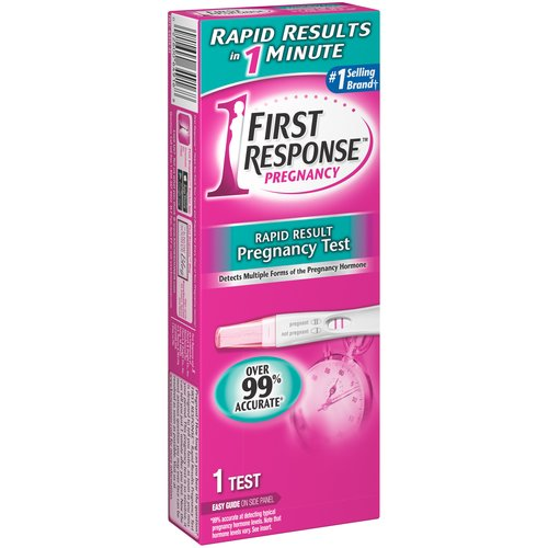 Walmart Free Pregnancy Box First Response Rapid Result