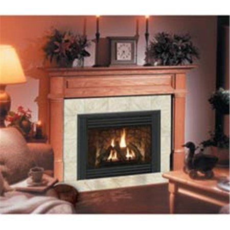 Claremont Flush Fireplace Mantel in Medium Provincial