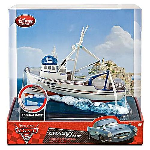 Disney Cars Cars 2 Playsets Crabby Exclusive Diecast Car Playset
