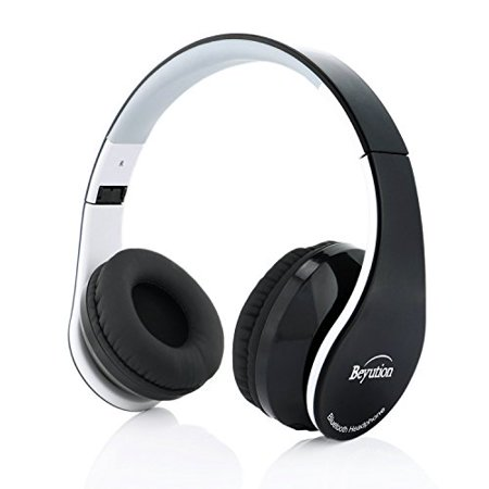 Beyution Over Ear Wireless Cellphone Headset, Bluetooth Version 4.1 Stereo Hifi Sound Quality Wired Headphones with 3.5mm