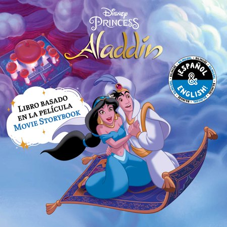 Disney Aladdin: Movie Storybook / Libro basado en la película (English-Spanish)](Halloween Stories English Class)