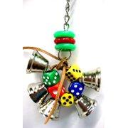 Bonka Bird Toys 1430 Dice Ringer Bird Toy.