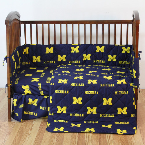 College Covers NCAA 5 Piece Crib Bedding Set by College Cover, LLC