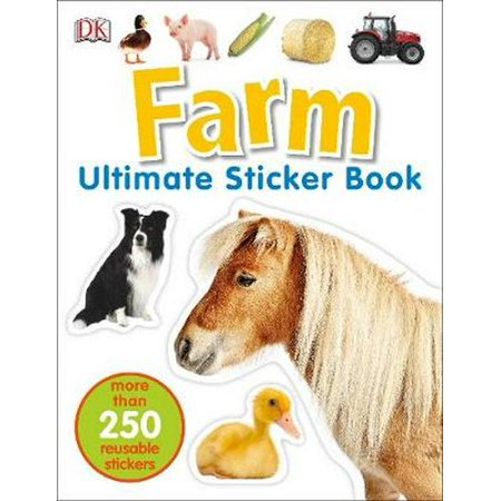 Farm Ultimate Sticker Book (Paperback)