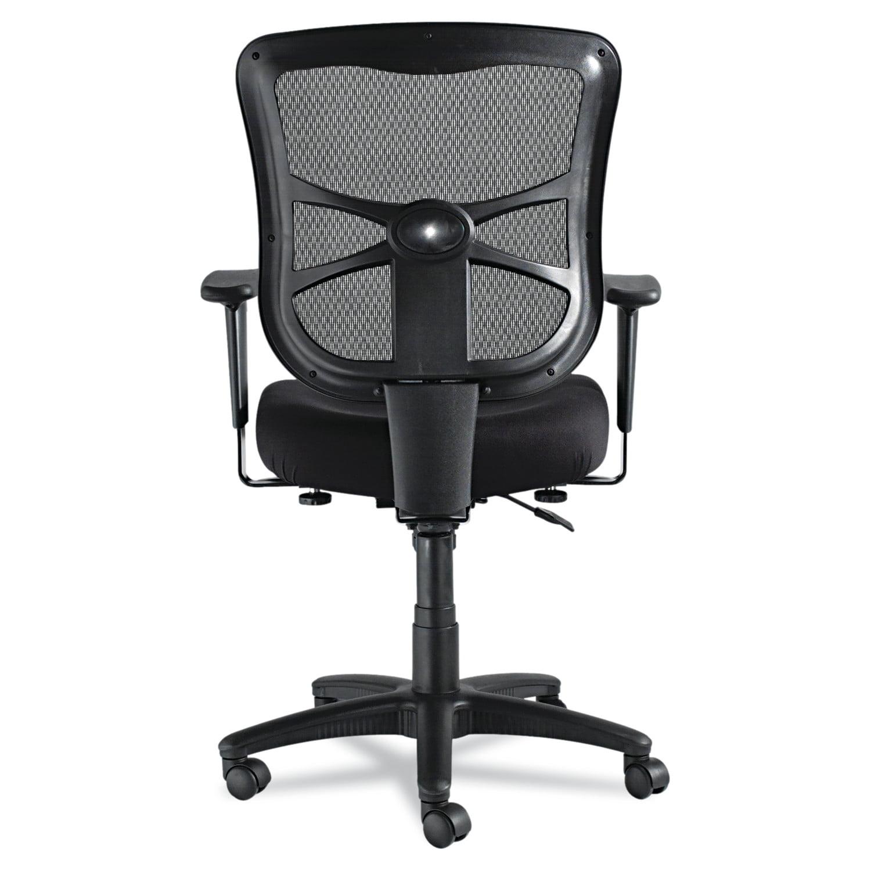 Alera Elusion Series Mesh Mid Back Swivel/Tilt Office Chair, Black    Walmart.com