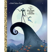 Little Golden Book: The Nightmare Before Christmas (Disney Classic) (Hardcover)