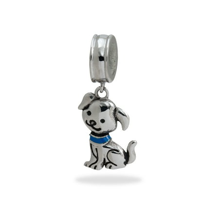 Scottie Dog Charm (Stainless Steel Dog Dangle Charm )