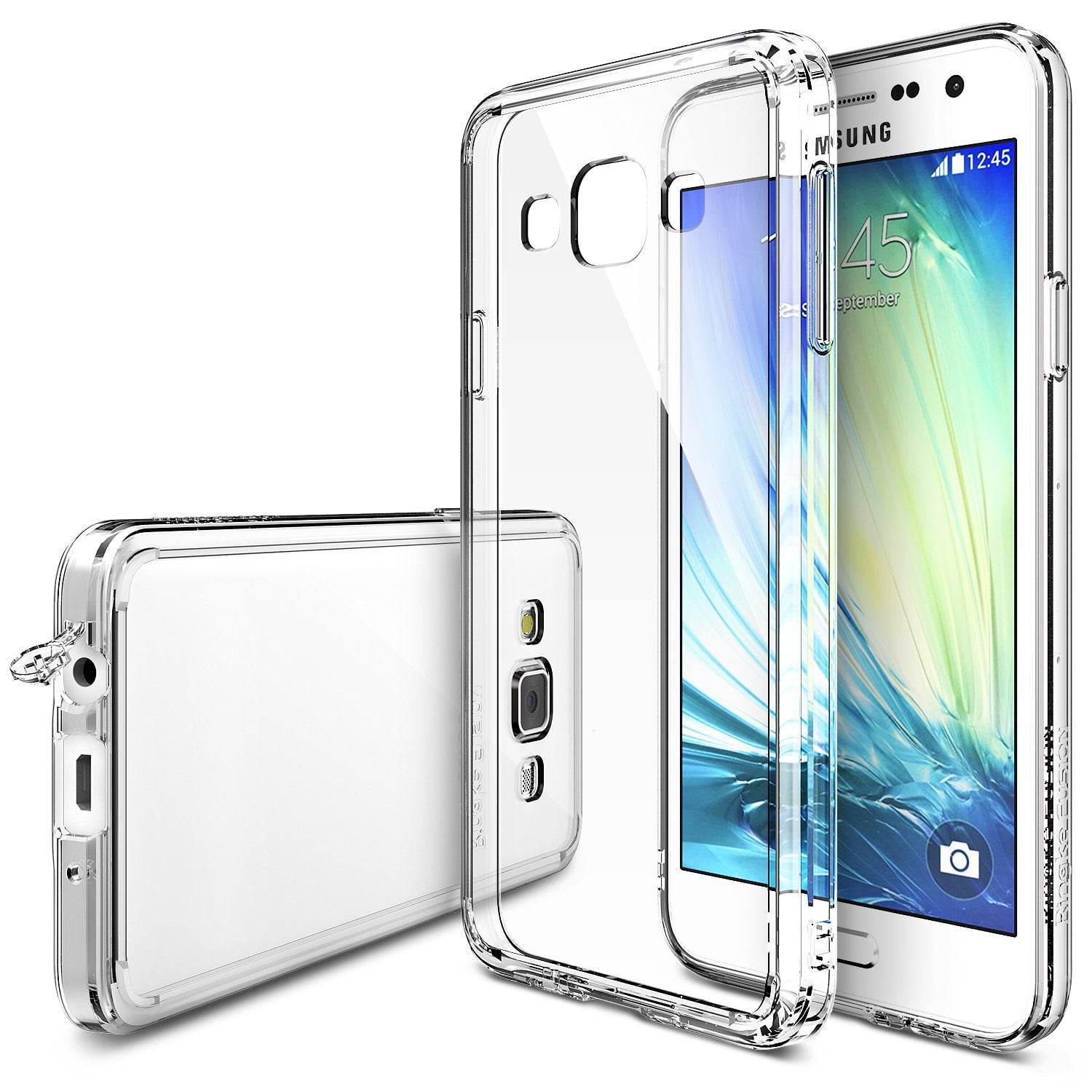 online store d2460 a6b85 Ringke FUSION Case for Samsung Galaxy A3 2014 - Clear