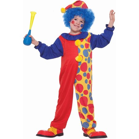 Child Boys Halloween Birthday Economy Clown Costume - Halloween Costumes Dead Clowns