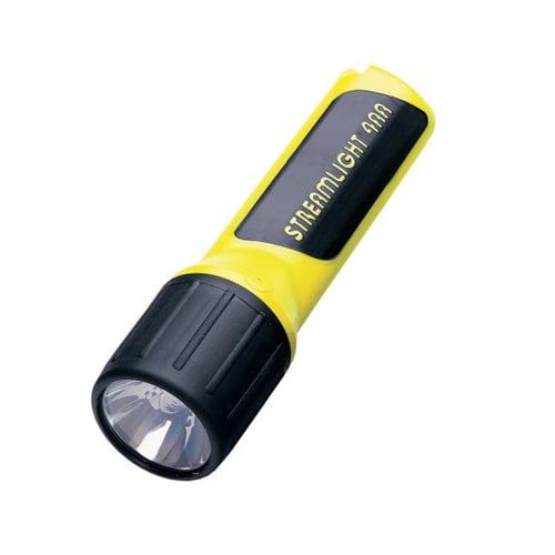 Streamlight 4AA w/Alkaline Batteries, Yellow