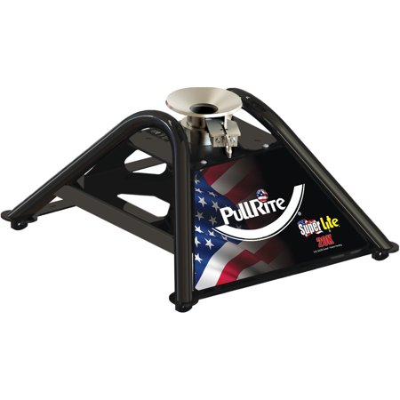 PullRite 2400 ISR Series SuperLite Attachment Fifth Wheel Hitch - Four Point (4P), 20K (Fifth Wheel Attachment)