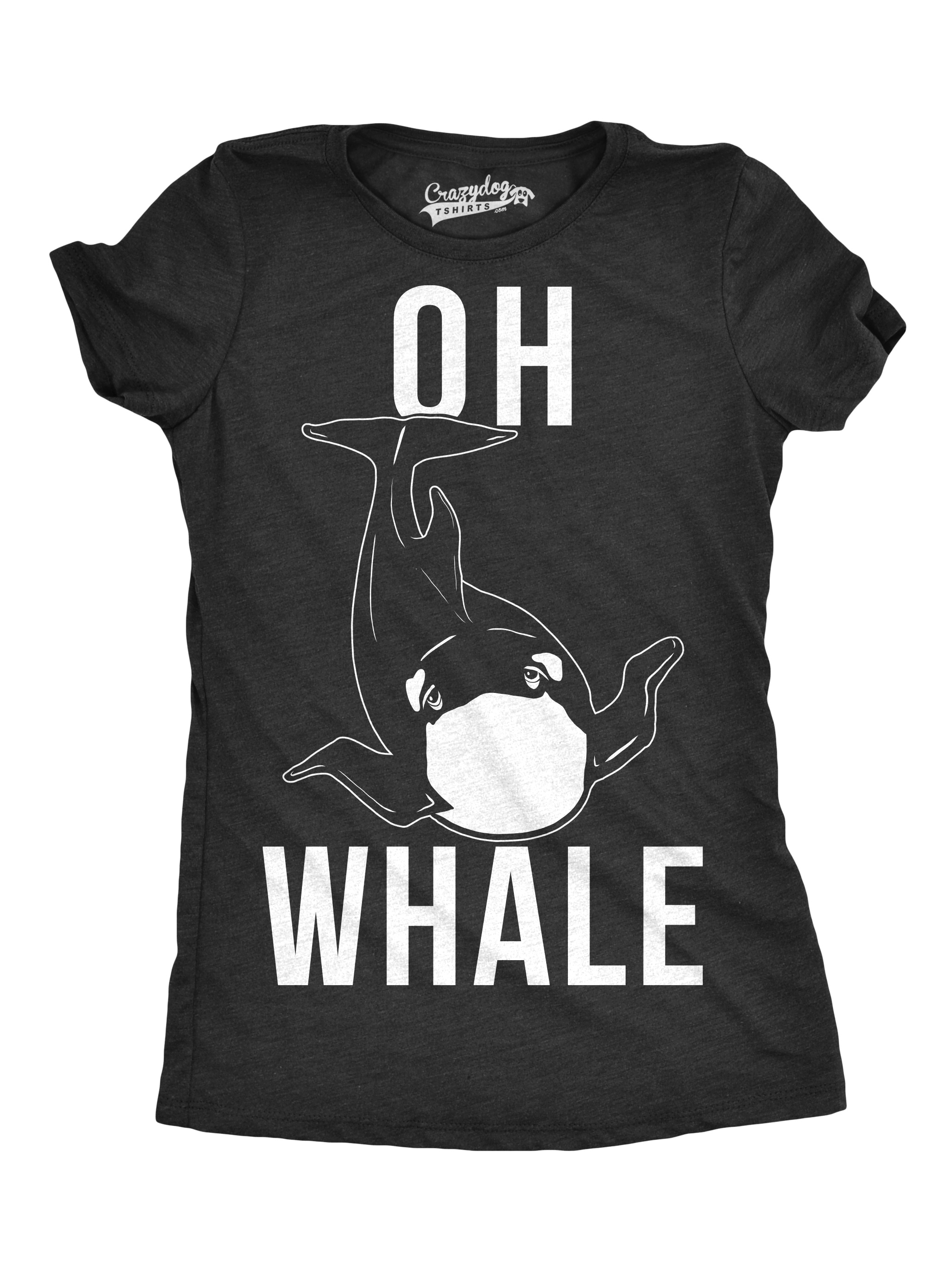1c4530edb Womens Oh Whale Funny T shirts Humorous Novelty Tees for Ladies Hilarious T  shirt