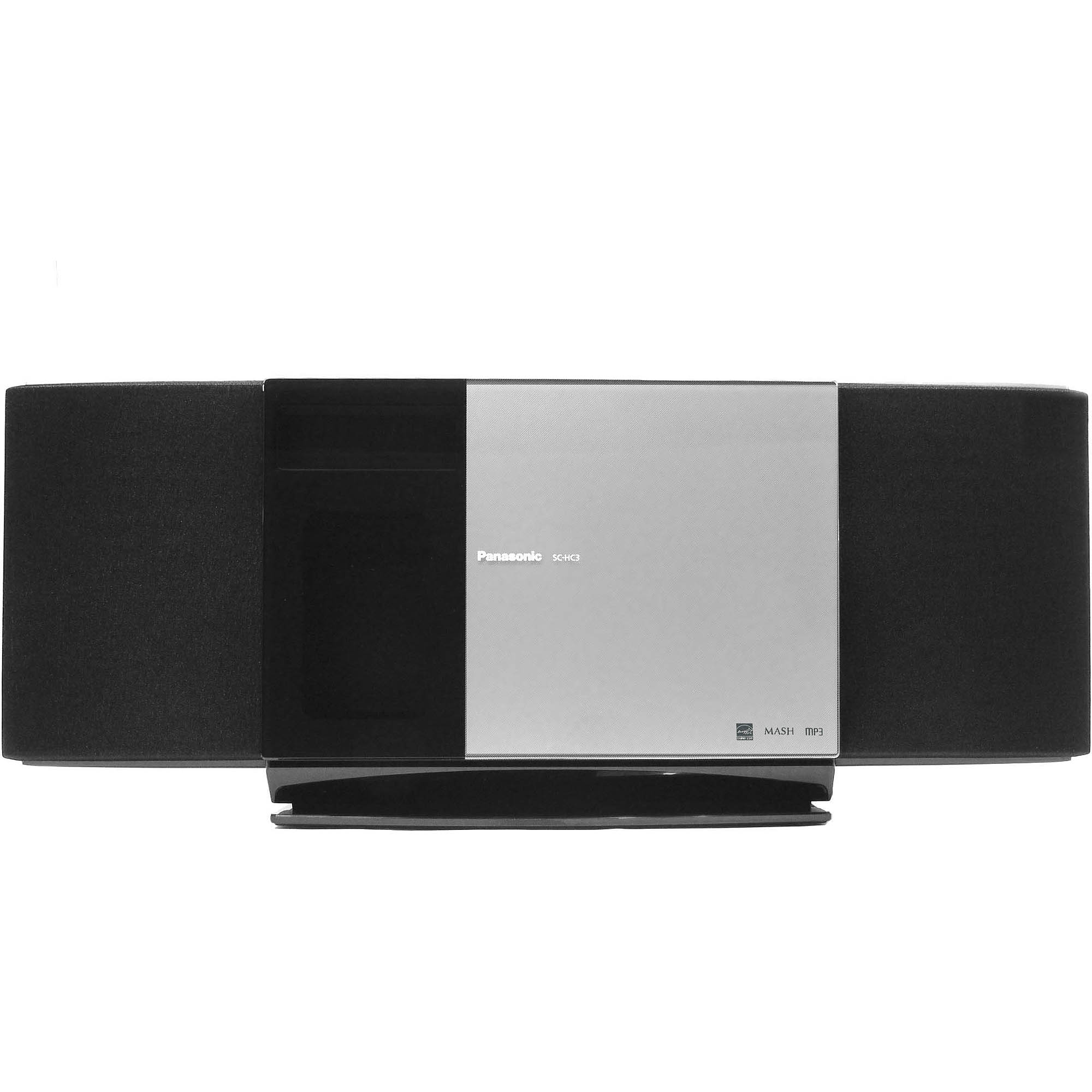 Panasonic SC-HC3 Micro Stereo System with iPod Dock, Refurbished