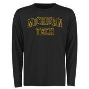Michigan Tech Huskies Everyday Long Sleeve T-Shirt - Black