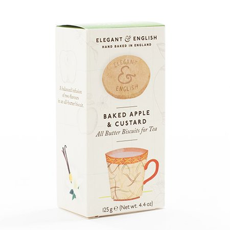 Elegant and English Biscuits - Baked Apple (5.36 ounce) - Baked Apple Crumble