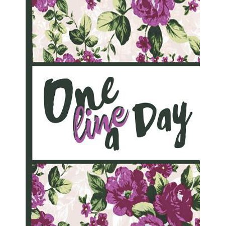Best Mom Ever : One Line a Day Beautiful Purple Foral Blossom Pattern 2020 Planner Calendar Daily Weekly Monthly Organizer 8.5x11 Inspirational Gifts for Woman Nature Lovers Gentle (Best Calendar Printing Service)