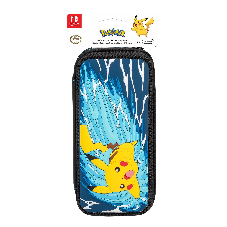 Pdp Nintendo Switch Pokemon Pikachu Battle Deluxe Travel - roblox pikachu pjs raise yo hands in the air 3 by