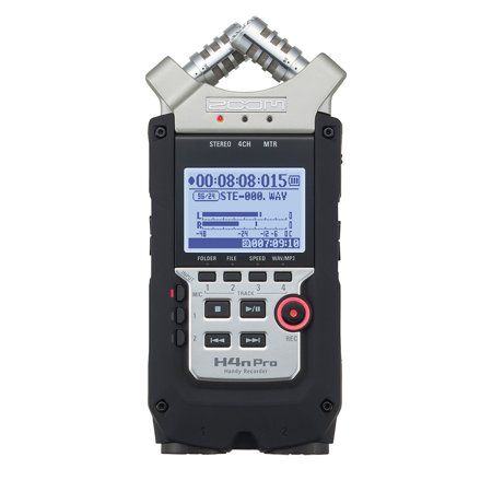 Zoom H4n Pro 4 Track Audio Portable Compact Handy Digital Multitrack (Zoom R16 Recorder)