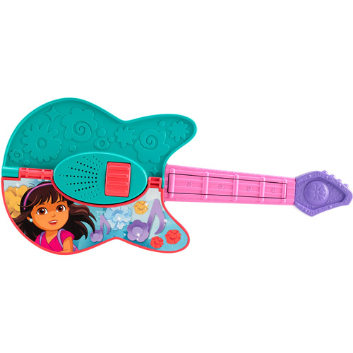 Fisher Price Dora and Friends Play-It-2-Ways Guitar by