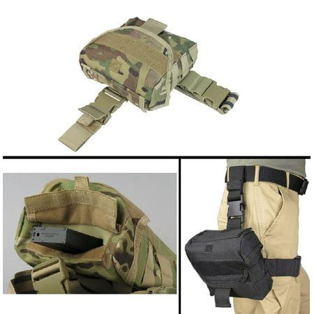 Ultimate Arms Gear Beretta 92  96  Px4 Pistol Handgun Tactical Taccam Camo Utility Multi Purpose Molle Dump Ammo Ammunition Magazine Stripper Clips Pouch Drop Leg   Belt Adjustments