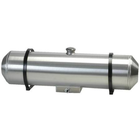 1040CF - Spun Aluminum Fuel Tank Center Fill 13.5 Gallons With Sump For Fuel -