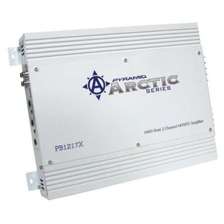 Pyramid 1600 Watt 2 Channel Bridgeable MOSFET Amplifier