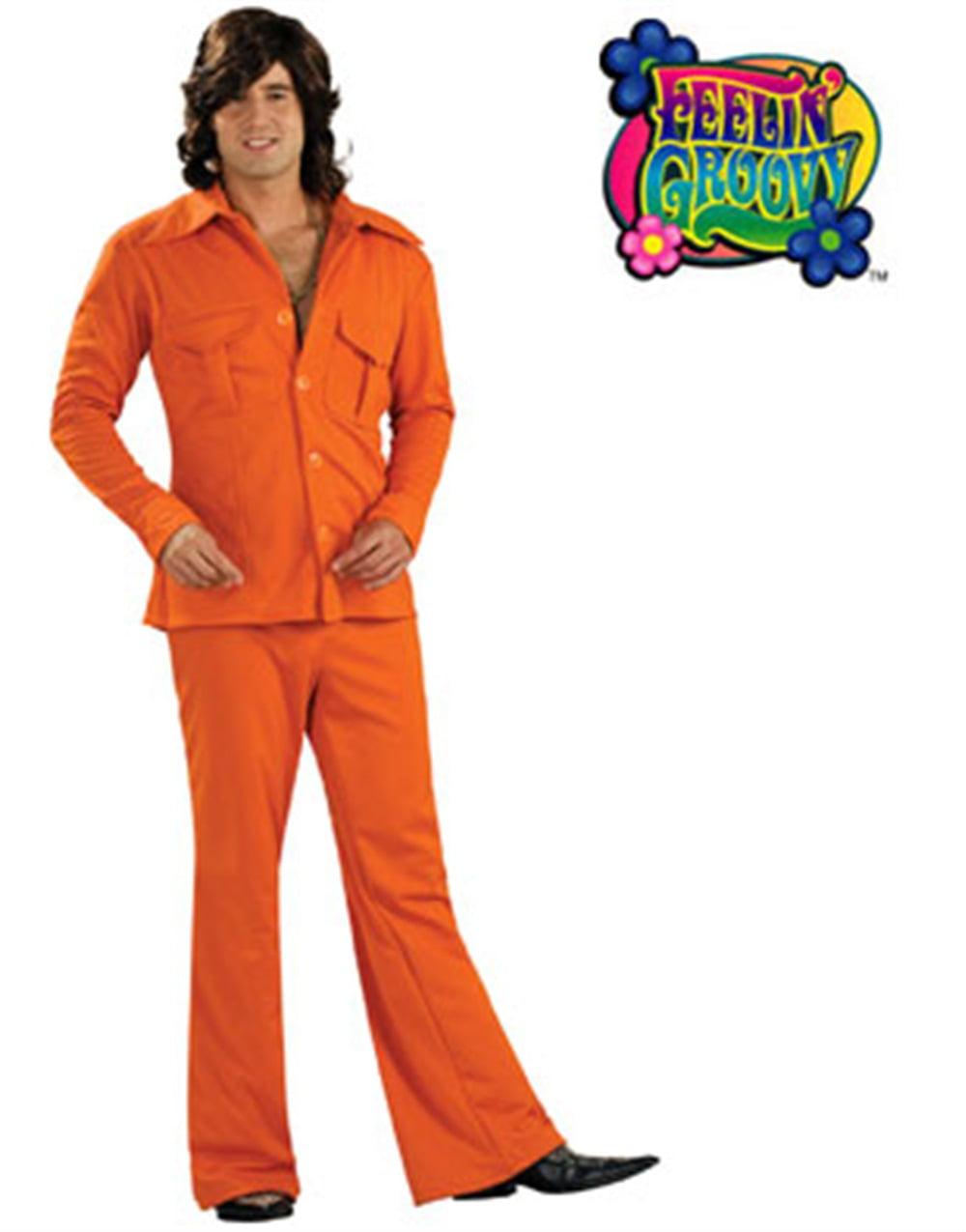 Disco Sleazeball 60s 70s Leisure Suit Men Costume