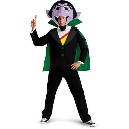 Sesame Street The Count Adult Halloween - Seasame Street Costumes