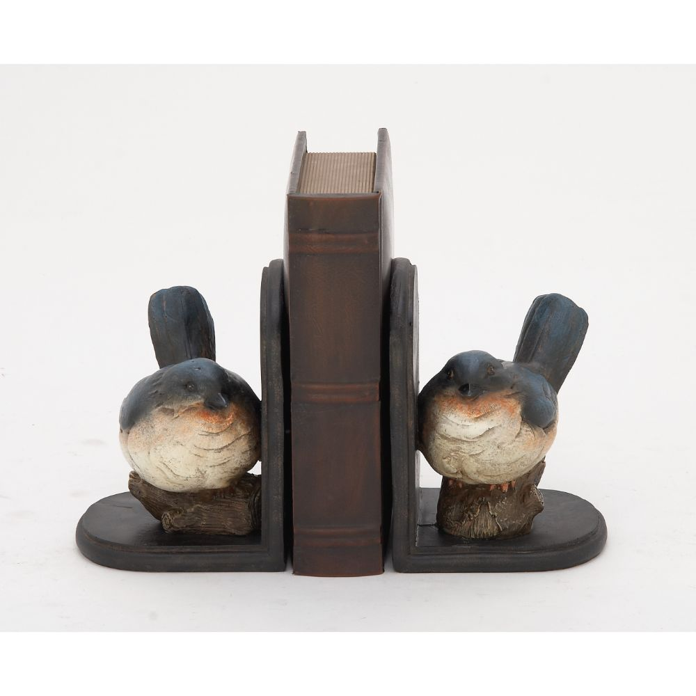 Endearing Ps Bird Bookend Pair