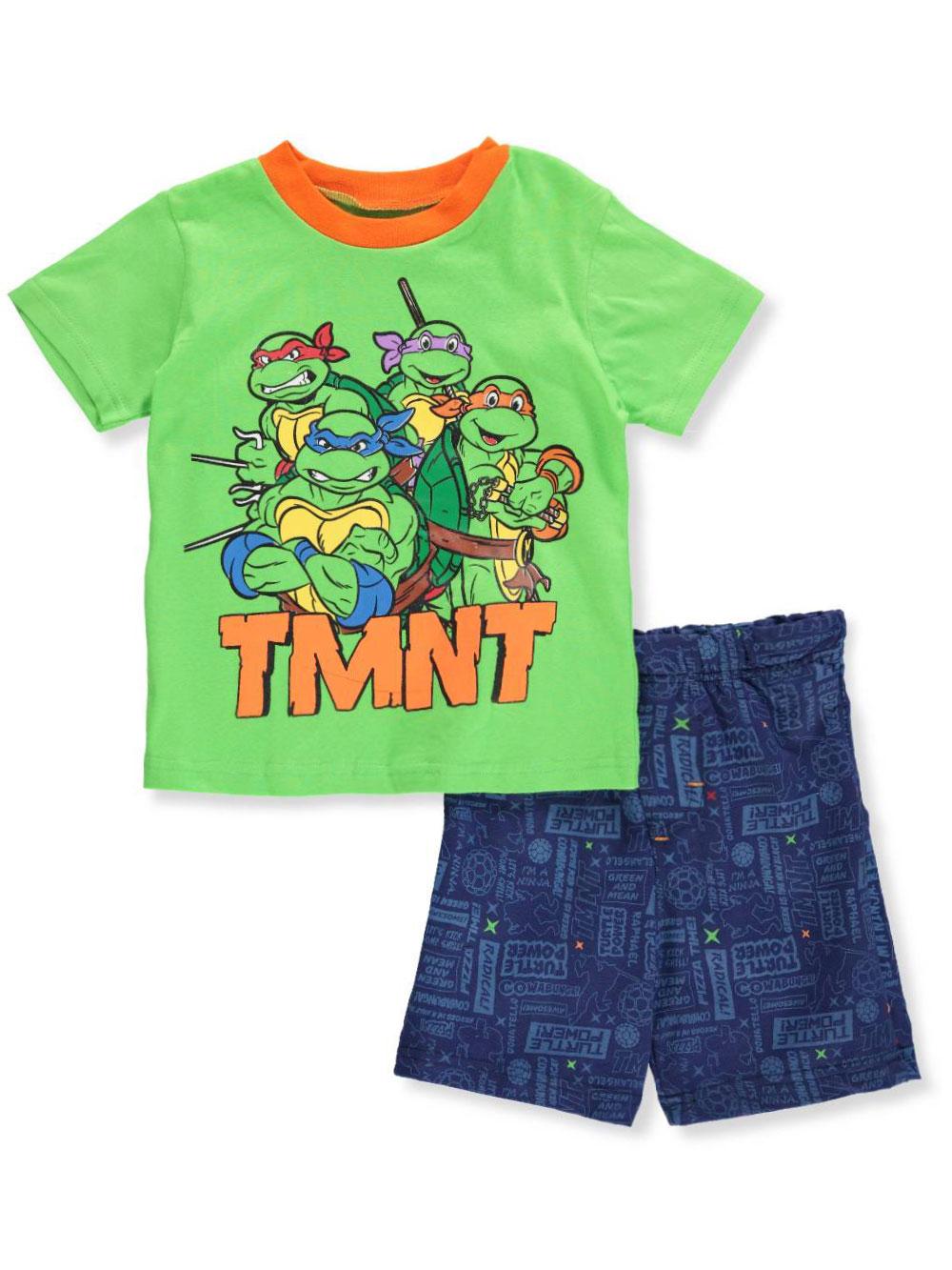 TMNT Boys' 2-Piece Shorts Set Outfit