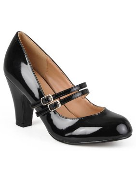 07868019e11 Women s Medium and Wide Width Mary Jane Patent Leather Pumps