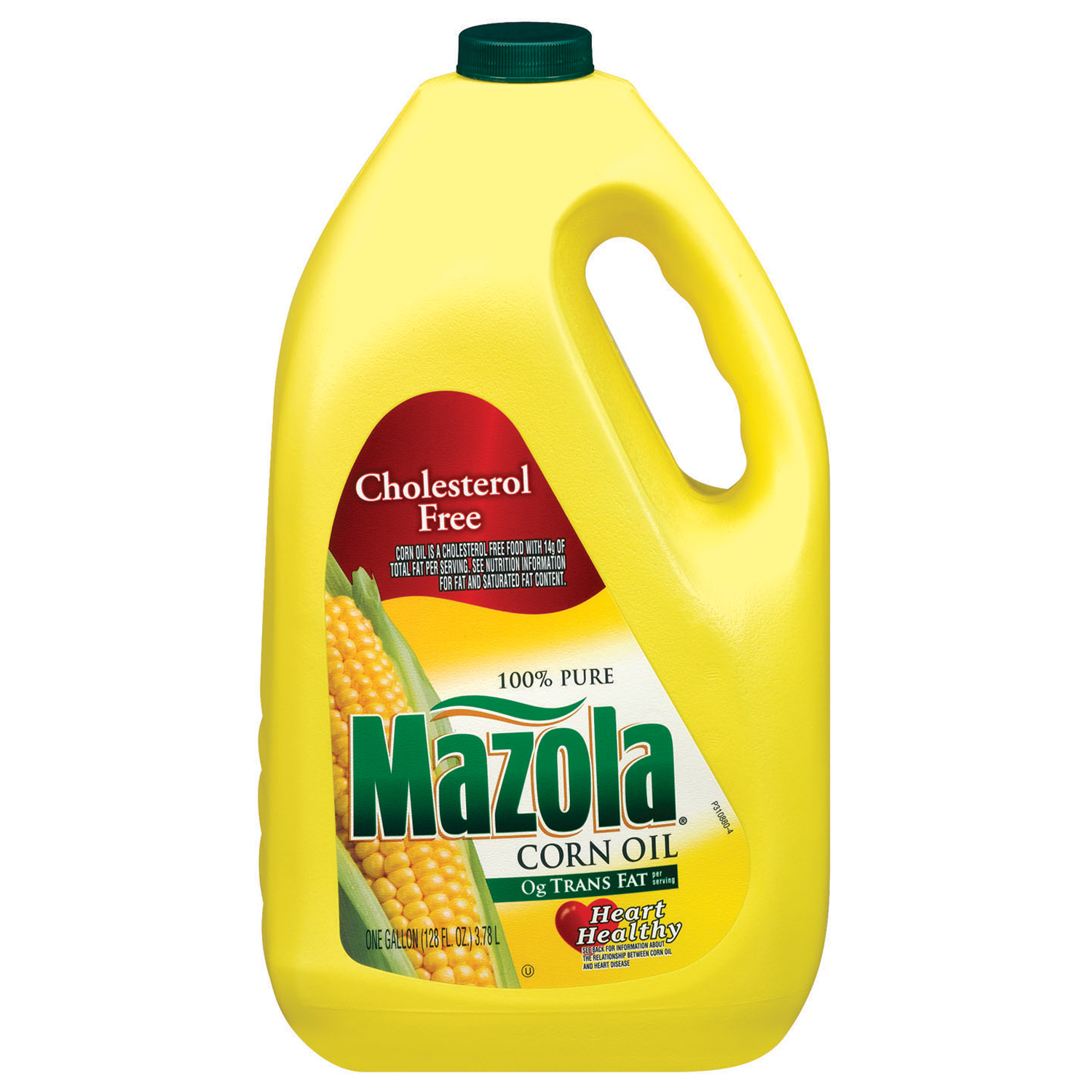 Mazola 100% Pure Corn Oil, 128 oz