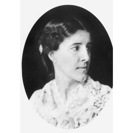 Feminist Photo - Charlotte Perkins GilmanN(1860-1935) American Feminist Writer And Reformer Photograph C1900 Rolled Canvas Art -  (24 x 36)