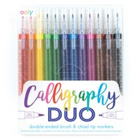 Calligraphy Duo Double Ended Markers - Set of 12 (Other)