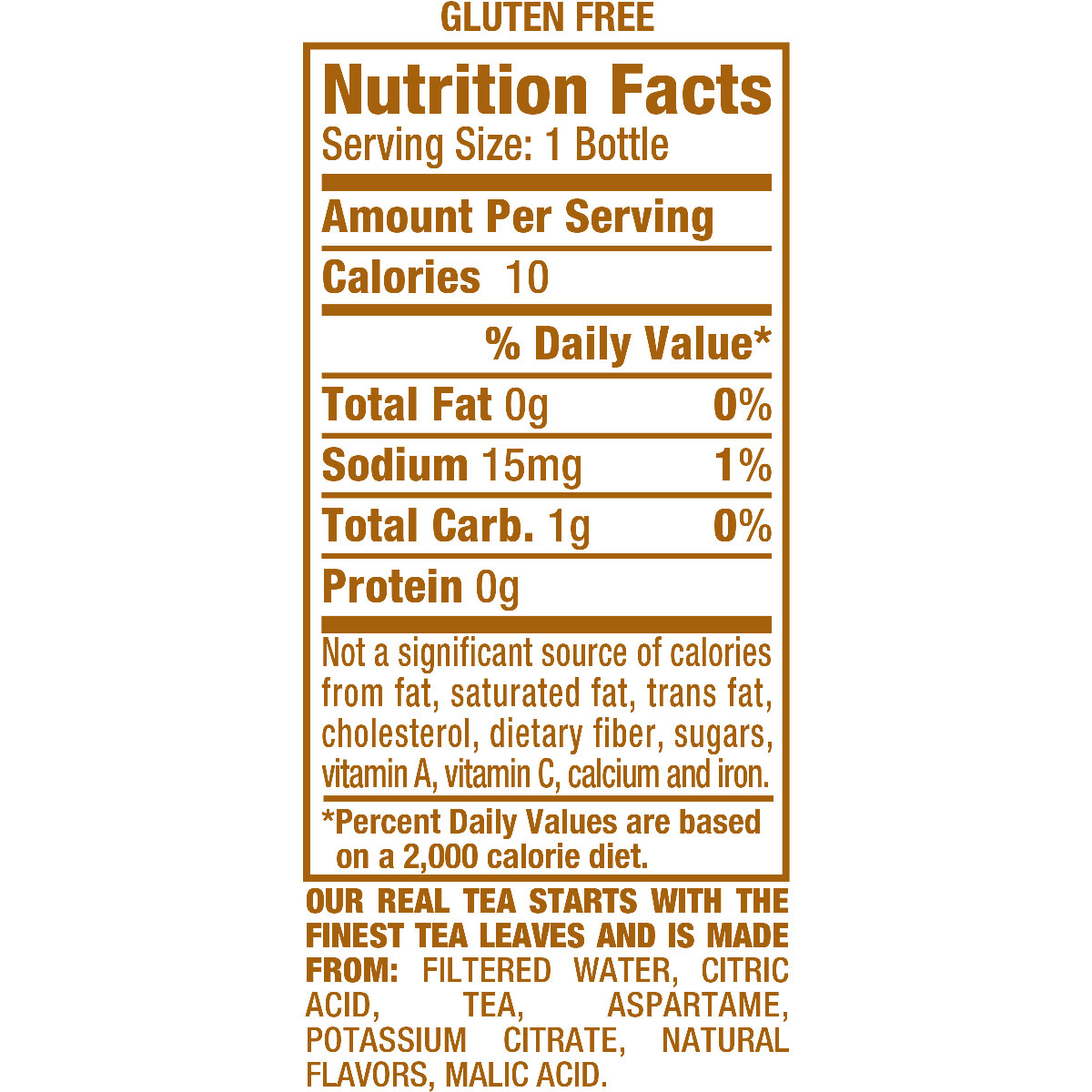 Peach Snapple Nutrition Facts Besto Blog