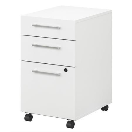 Bush Business Furniture 400 Series 3 Drawer Mobile File Cabinet