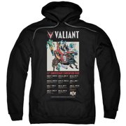 Valiant 25 Years (Front Back Print) Mens Pullover Hoodie