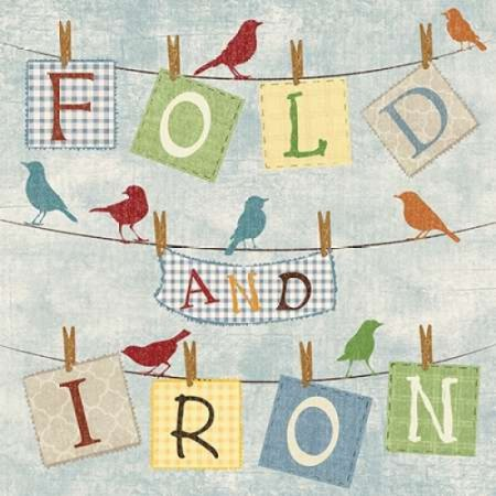Fold And Iron Poster Print By Piper Ballantyne