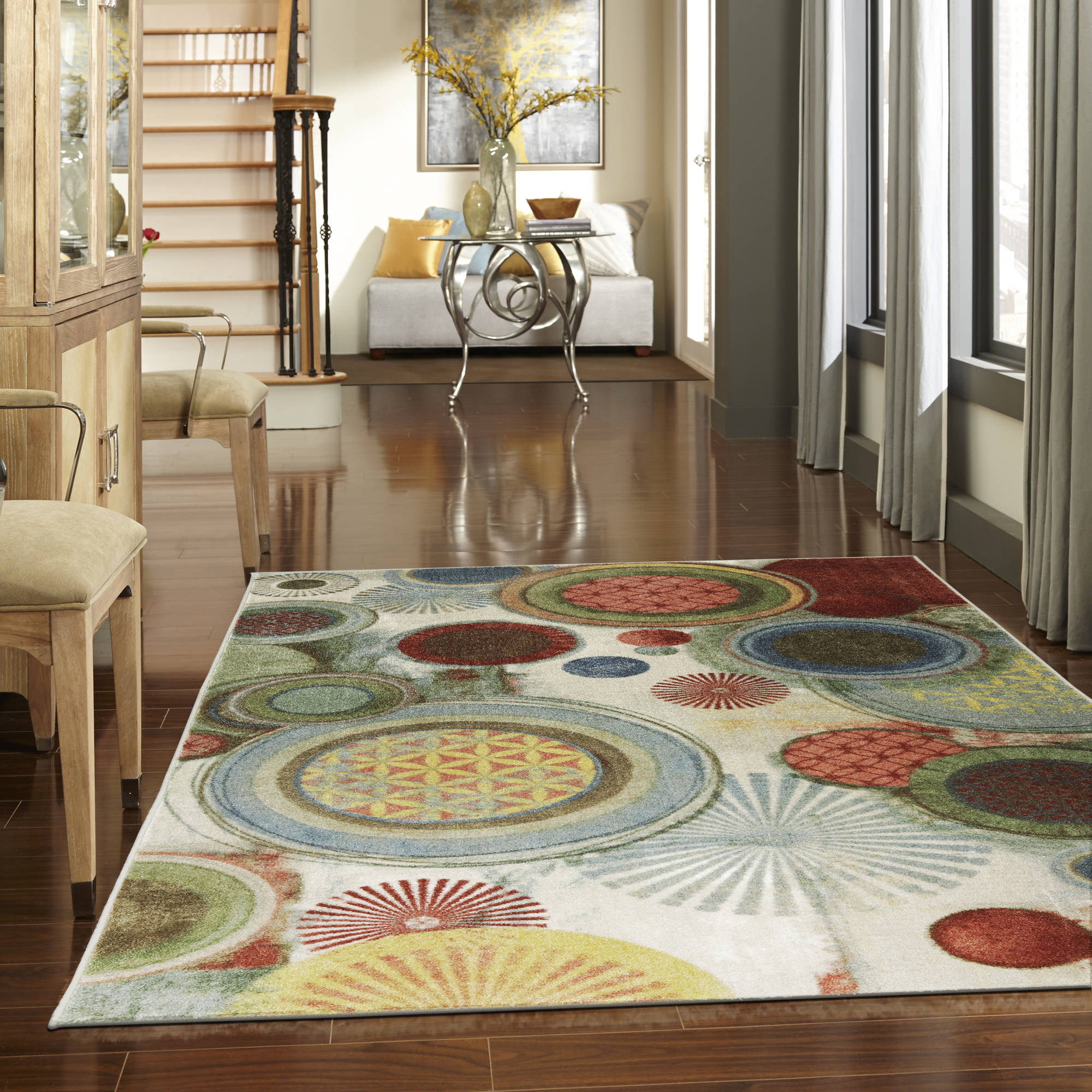 Mohawk Home Motion Printed Area Rug, Multicolor by Generic