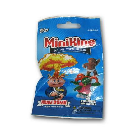 Topps Garbage Pail Kids Series 1 MiniKins Mini Figures Basic Pack
