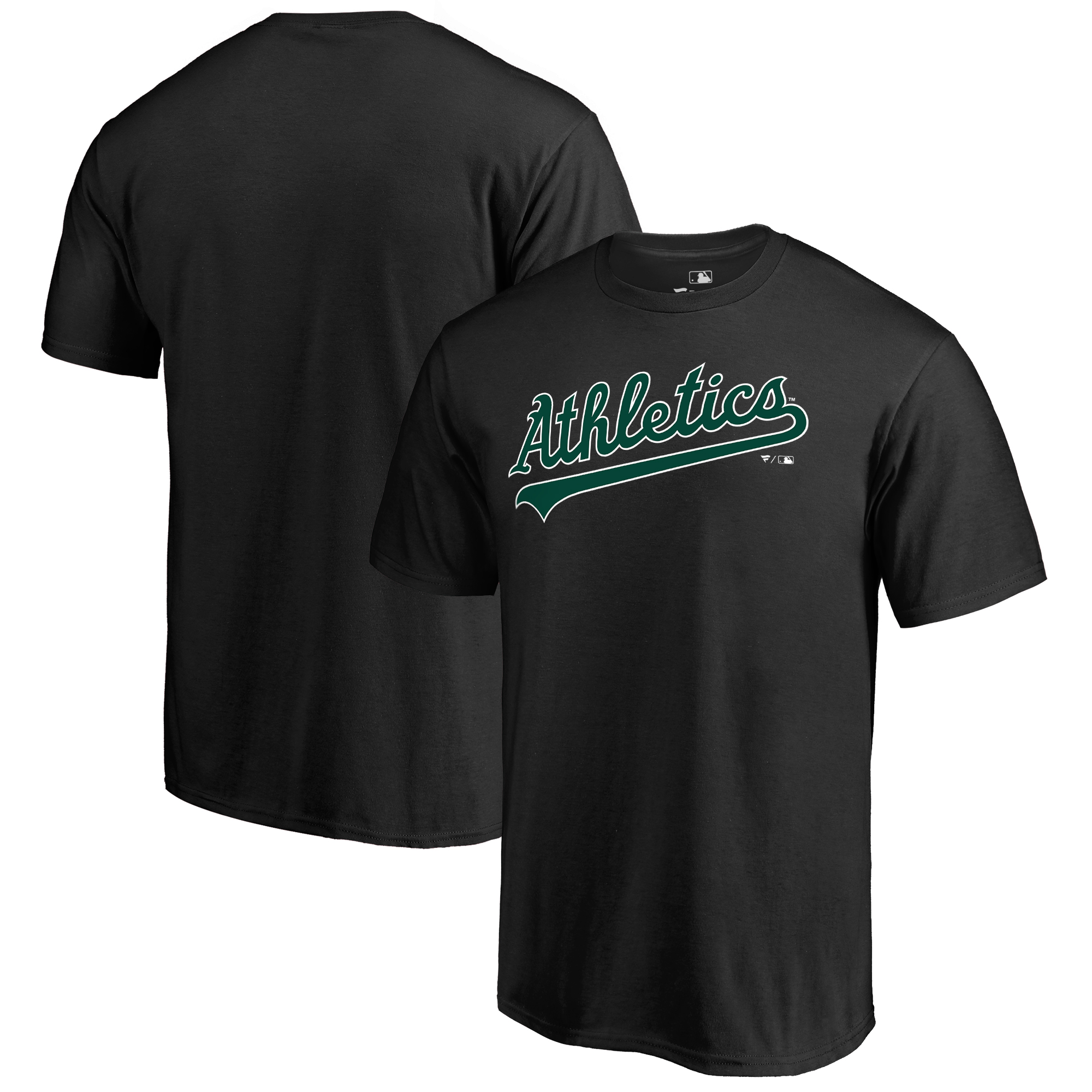 Oakland Athletics Fanatics Branded Hometown Collection Turn Back The Clock T-Shirt - Black