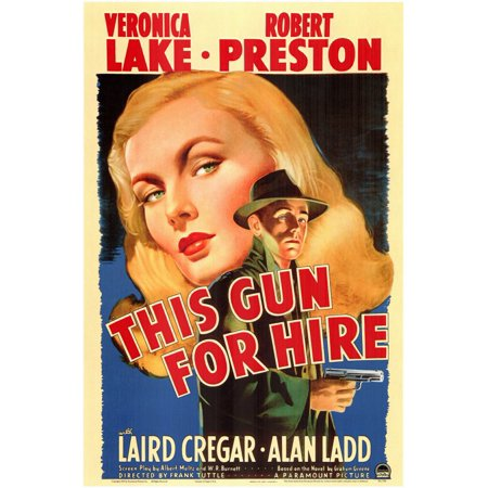 This Gun For Hire  1942  11X17 Movie Poster