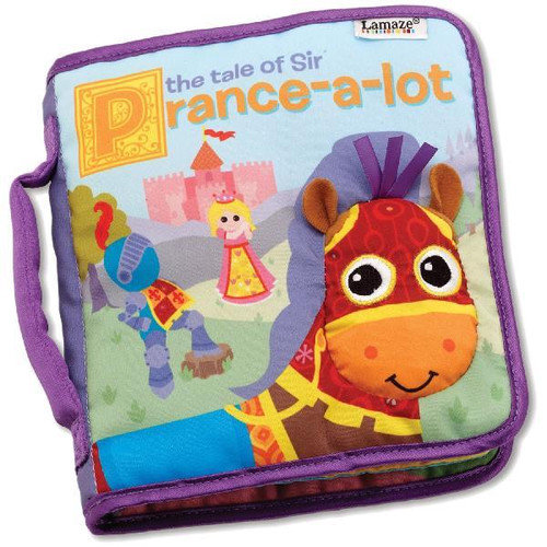 Lamaze Cloth Book, Tale of Sir Prance-a-Lot Multi-Colored