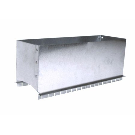 MasterFlow 10 in. x 4 in. Register Box Saddle Insulate ductwork (Best Insulation For Ductwork)