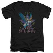 She Ra I Am She Ra Mens V-Neck Shirt