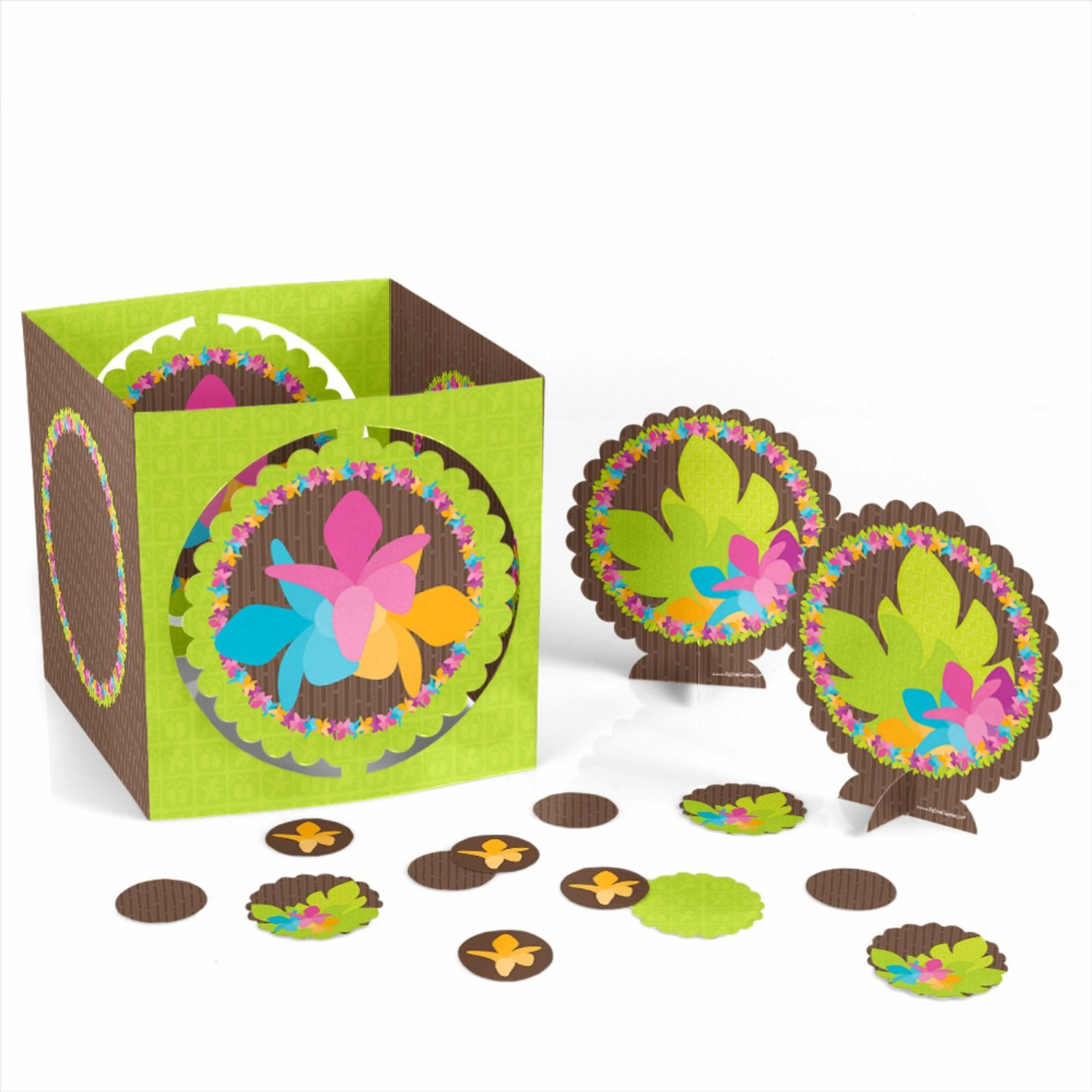 Luau - Party Table Decorating Kit