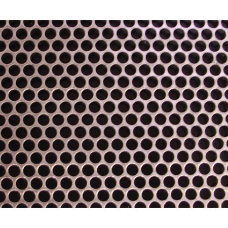Helix Racing Products Body Work Vent Mesh Round 18 X 18 Aluminum